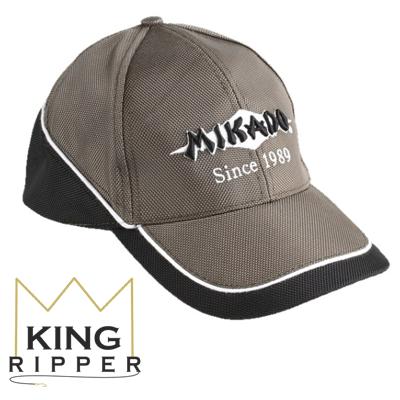 Czapeczka mikado szara UM-UB017 King Ripper
