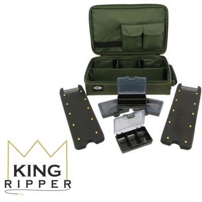 De lux Piórnik BOX Complete Carp NGT King Ripper