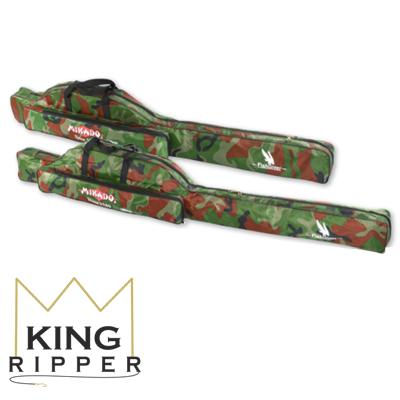 Pokrowiec na wędki z jedną komorą Mikado UWD-04201C King Ripper