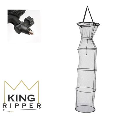 King Ripper Siatka z metalowymi obręczami mikado