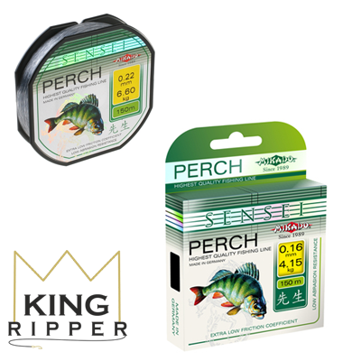 Sensei perch 150m Mikado KING RIPPER