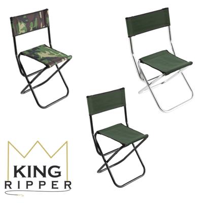 Krzesła wędkarsko turystyczne mikado KING RIPPER