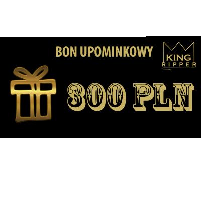 Bon upominkowy 300 zł KING RIPPER