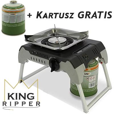 Kuchenka NGT Gazówka Kartusz GRATIS KING RIPPER