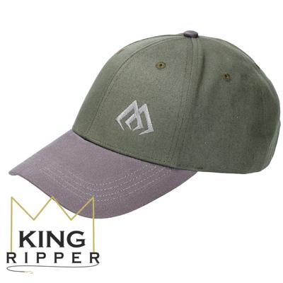 Czapka Wędkarska zielono szara Mikado KING RIPPER