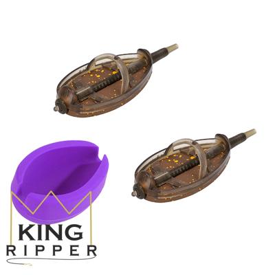 Komplet koszyczków QUICK METHOD FEEDER DOUGLAS rozmiar XL Mikado KING RIPPER