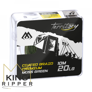 Plecionka przyponowa COATED BRAID PREMIUM 10m Mikado KING RIPPER
