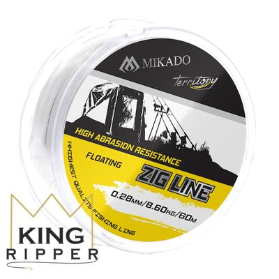 Przezroczysta żyłka TERRITORY ZIG LINE 60m Mikado KING RIPPER