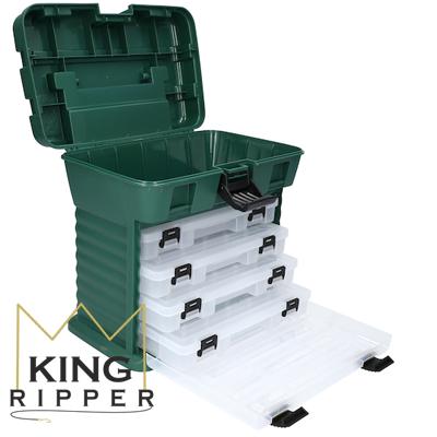 Pudełko skrzynak wędkarska Mikado KING RIPPER