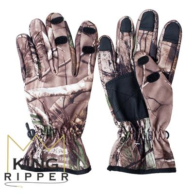 Rękawiczki Wędkarskie camo Mikado KING RIPPER