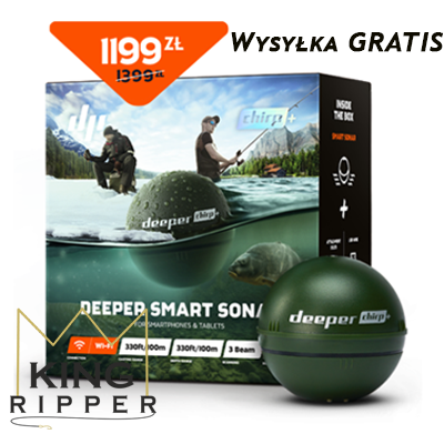 Deeper chirp + KING RIPPER WysyłKA GRATIS
