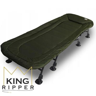 Łóżko karpiowe na 8 nogach NGT KING RIPPER