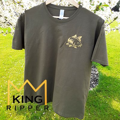 Koszulka Wędkarska KARP HAKI KING RIPPER