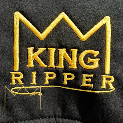 LOGO KING RIPPER KURTKA SOFTSHELL WĘDKARSKA