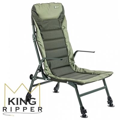 Fotel Karpiowy Chair Premium Long Mivardi KING RIPPER