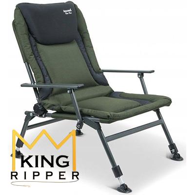 Fotel Karpiowy VISITOR CHAIR Anaconda KING RIPPER
