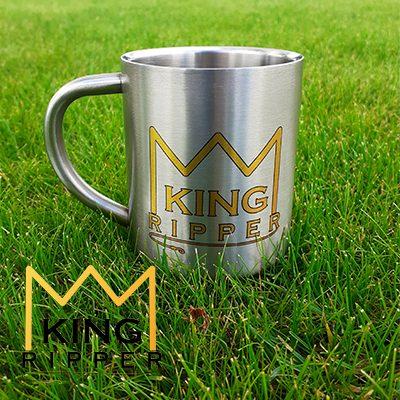 Kubek wędkarski karp Metalowy KING RIPPER