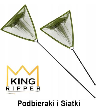 Podbieraki i siatki wędkarskie KING RIPPER